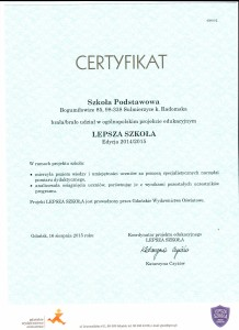 certyfikat -zd