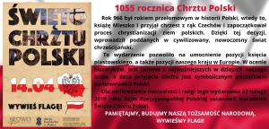 14 kwietna 2021 r. obchodzimy 1055 rocznicę przyjęcia chrztu przez Polskę (1)
